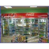 天门市饮料店保鲜设备,冷饮展示柜,佳伯超市乳制品冷藏柜