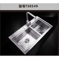 2015新款好的家304不锈钢拉丝洗碗池水池水盆