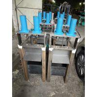 佛山海拓批发银江2工位高速液压不锈钢防盗网打孔机大量质量可靠