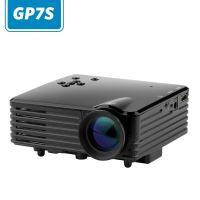 厂家批发GP7S+正投投影仪家用LED迷你微型高清手持东锜投影机 家庭影院