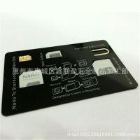 多功能SIM卡还原卡套盒 小清新风格信用卡名片卡套盒子 节日礼品