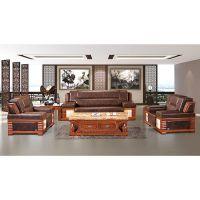 【三博家具】特价地中海风格 创意休闲 大堂沙发新意客厅沙发970A