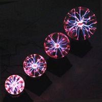 出口品质6寸EMC声控魔灯 16CM离子球 电子工艺灯 魔术灯 ABS+玻璃