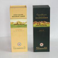 烟台绿色庄园系列单只红酒包装纸盒