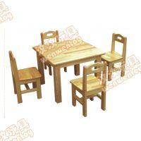 上海幼儿园桌椅定制 儿童上课桌椅生产 幼儿园实木塑料桌椅定制