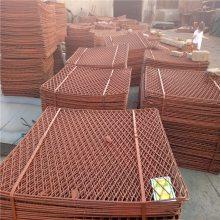 旺来304钢板网 菱型圈地钢板网 圈玉米笼子