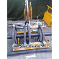 电熔焊机图片 燃气pe管专用315全自动热熔机价格 山东创铭pe管热熔机价格