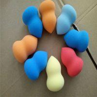 40*60mm非乳胶葫芦海绵粉扑+水滴粉扑海绵扑 深圳同球供应