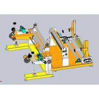 环龙原纸盘纸卷筒纸分切复卷机、环龙分纸机、分条机价格厂家(FZ-BNC)