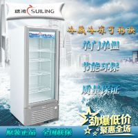 穗凌 LG4-288立式展示柜 冷藏 保鲜柜 无灯箱 单温直冷