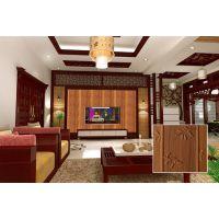 贝斯家供应批发中式复古仿木3d墙贴新型装饰客厅电视背景三维板