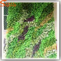 仿真植物墙安装过程 假植物墙价格 松涛厂家定做 背景墙绿化墙