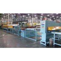 物流周转箱用双层蜂窝塑料蜂窝板设备/生产线