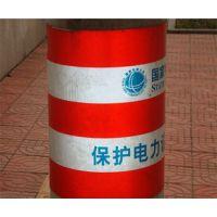 供应50cm*120cm电杆防撞反光警示贴 电力反光膜