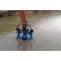 河道挖机清淤泵 沿海液压抽沙泵