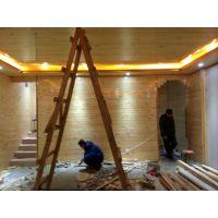 恒丰通木业供应加工 防腐木桑拿板碳化木规格料承接室内外安装