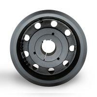 湖北皮带轮采购spz160-08选无锡帛扬锥套皮带轮厂家