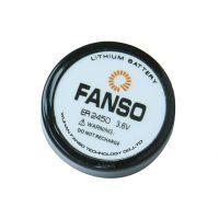 FANSO ER2450,孚安特3.6V扣式电池,锂亚双针纽扣电池