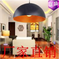 厂家直销简约现代内螺纹半圆吊灯餐厅吊灯工程 铝材单头吊灯灯具