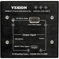 SMMB-NPO-W100R 全能网络高清视频墙面信息盒