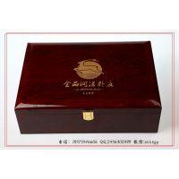 【厂家定制】滋补品高光木盒 保健滋补品高光漆木盒 定制高光木盒