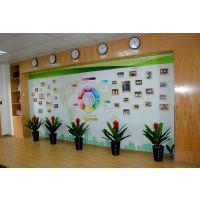 软木板可以更环保!优力优磁性照片板设计定制员工照片墙