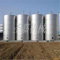 圣嘉固态烧酒设备厂家直销 304不锈钢储酒罐低价促销