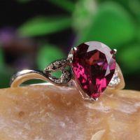 招商加盟,水晶坊珠宝加盟,石榴石戒指