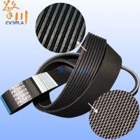 广州擎川everlar厂家直销PK1410防滑耐磨黑色多8峰7沟多沟带