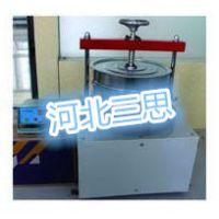 河北三思SYL-8型矿物棉振筛机价格/岩棉振筛机筛子直径 :ф300mm