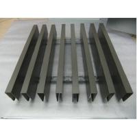 供应浅灰色铝方通,室内吊顶专用长条形铝天花,欧佰天花厂家专业订做生产。