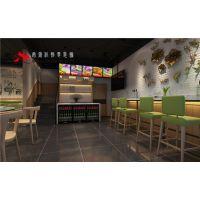 合肥快餐店装修 有品位有风格创意新食法
