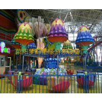 消遥水母大型户外游乐设备厂家荥阳梦幻童缘供应旋转类桑巴气球