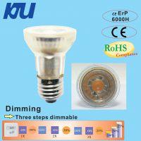 KJU-LED PAR16/COB 有3.3W/5W/6W 全玻璃结构,环保节能