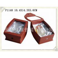 厂家直销高档香水礼品包装盒P1148透明PVC开窗礼品盒香水盒