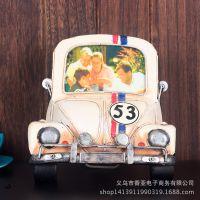 英伦复古小型汽车创意相框 迷你礼物家居装饰品小摆件 复古工艺品