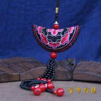 创意包包挂件民族风绣包挂饰/挂件饰品 装饰 民族风包链