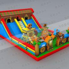 孩子玩的充气蹦蹦床多少钱一平米
