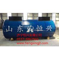 恒兴金属加工定制30立方 50立方SF双层储油罐保证质量厂家直销