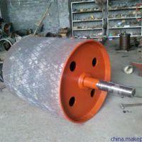 河北传动滚筒厂家 供应包胶滚筒 矿山输送机滚筒