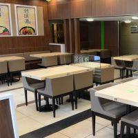 桌子定制厂家,惠州茶餐厅家具定做,深圳西餐厅板式餐桌批发 运达来家具