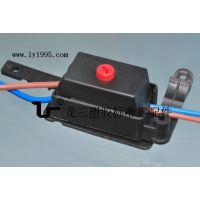 龍三塑胶标准零配件制造厂直销012两位端子接线盒