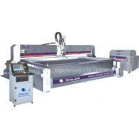 Abrasive waterjet cutting machine for marble cutting
