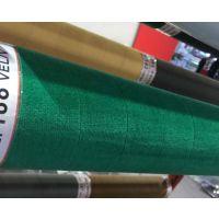 绿绒糙面带是一种绿色绒布 经过特殊工艺制作而成 具有很强的防滑作用