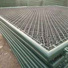 顺旺动物园养殖网 养兔绿色防护网 带框勾花网