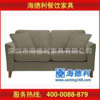 质量保证 休闲时尚布艺卡座沙发 现代双人布艺沙发 支持定做