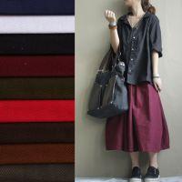 【伟兴行】全工艺染色全棉加厚粗斜纹纱卡布高档服装鞋帽休闲包布