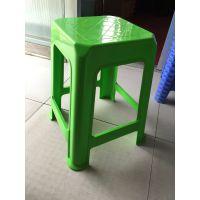 厂家直销 塑料凳 大方凳 加厚塑料方凳 餐桌凳 烧烤凳子