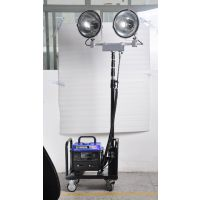SZY6000G便携式升降工作灯海洋王SFW6120轻型升降泛光灯华荣GAD505-J升降式照明装置