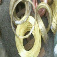 专业生产H65硬态黄铜线 黄铜扁线 加工异形黄铜线 价格优惠